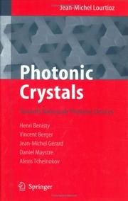 Cover of: Photonic Crystals