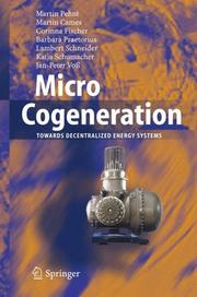 Cover of: Micro Cogeneration