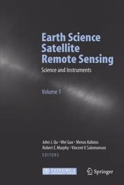 Cover of: Earth science satellite remote sensing data