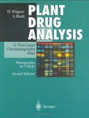 Cover of: Plant Drug Analysis