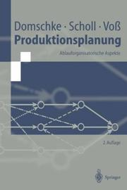 Cover of: Produktionsplanung