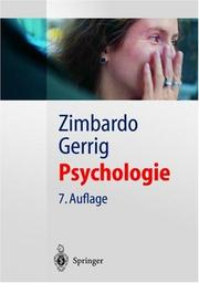 Cover of: Psychologie (Springer-Lehrbuch)