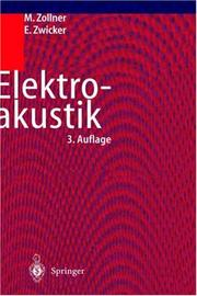 Cover of: Elektro-akustik 3.Auflage