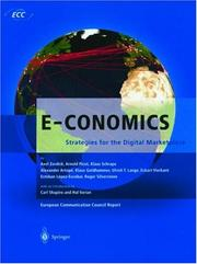Cover of: E-conomics