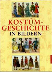 Cover of: Kostümgeschichte in Bildern.