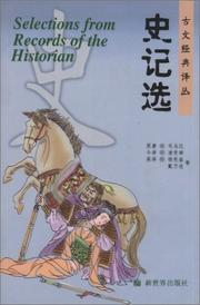 Cover of: Selections from the Records of the Historian