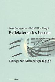 Cover of: Reflektierendes Lernen