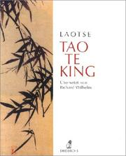 Cover of: Tao te king.
