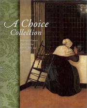 Cover of: A Choice Collection