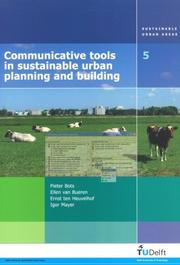 Cover of: Communicative Tools in Sustainable Urban Planning And Building