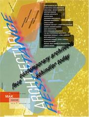 Cover of: Architectural Resistance