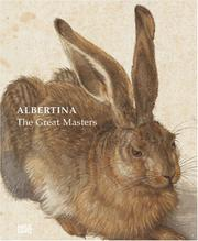 Cover of: Masterpieces of the Albertina