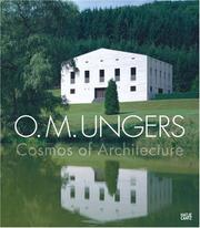 Cover of: O. M. Ungers