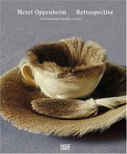 Cover of: Meret Oppenheim