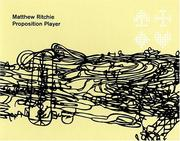 Cover of: Matthew Ritchie