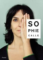 Cover of: Sophie Calle