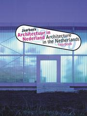 Cover of: Architecture in the Netherlands, Yearbook 1999-2000