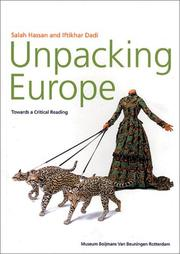 Cover of: Unpacking Europe
