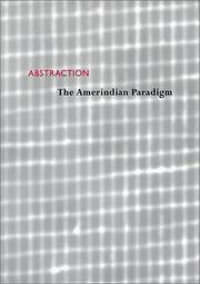 Cover of: Abstraction: The Amerindian Paradigm