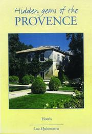 Cover of: Hidden Gems of Provence