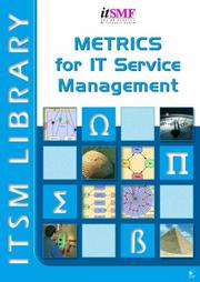 Cover of: Metrics for IT Service Management