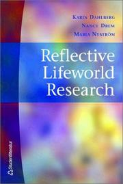 Cover of: Reflective Lifeworld Research
