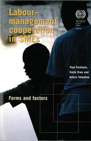 Cover of: Labour-Management Cooperation in SMEs