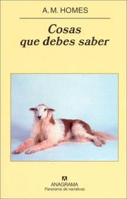 Cover of: Cosas Que Debes Saber