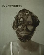 Cover of: Ana Mendieta