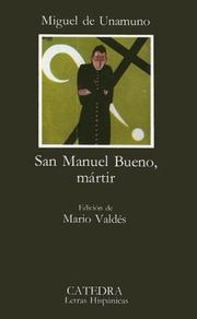 Cover of: San Manuel Bueno, martir