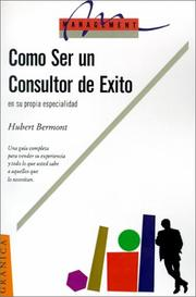 Cover of: Como Ser UN Consultor De Exito