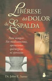 Cover of: Libérese del dolor de espalda