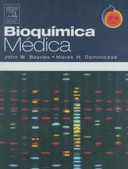 Cover of: Bioquimica Medica