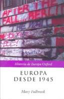 Cover of: Europa Desde 1945