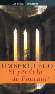 Cover of: El Pendulo De Foucault