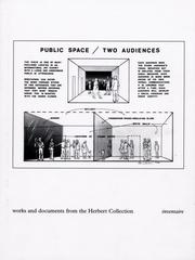 Cover of: Public Space, Two Audiences