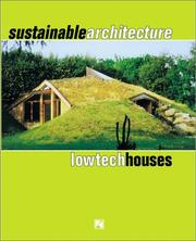 Cover of: Sustainable Architecture
