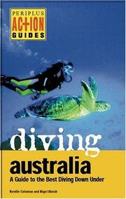 Cover of: Diving Australia