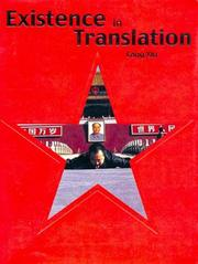 Cover of: Existence in Translation