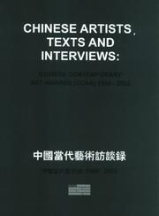 Cover of: Chinese Artists, Texts And Interviews