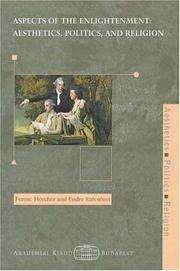Cover of: Aspects of the enlightenment