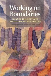 Cover of: Working on boundaries