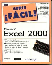 Cover of: Excel 2000 Facil!