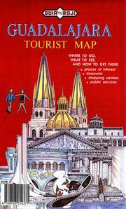 Cover of: Guadalajara Tourist Map: Scale 1:15,000