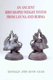 Cover of: An Ancient Bird-Shaped Weight System from Lan Na and Burma
