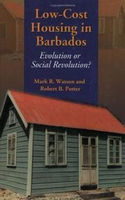 Cover of: Low-Cost Housing in Barbados