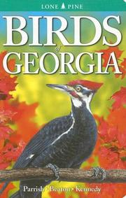 Cover of: Birds of Georgia