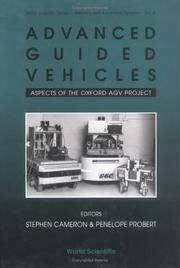 Cover of: Advanced Guided Vehicles