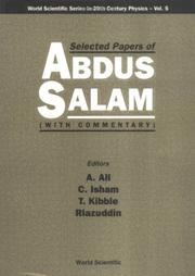 Cover of: Selected Papers of Abdus Salam