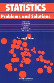 Cover of: Statistics